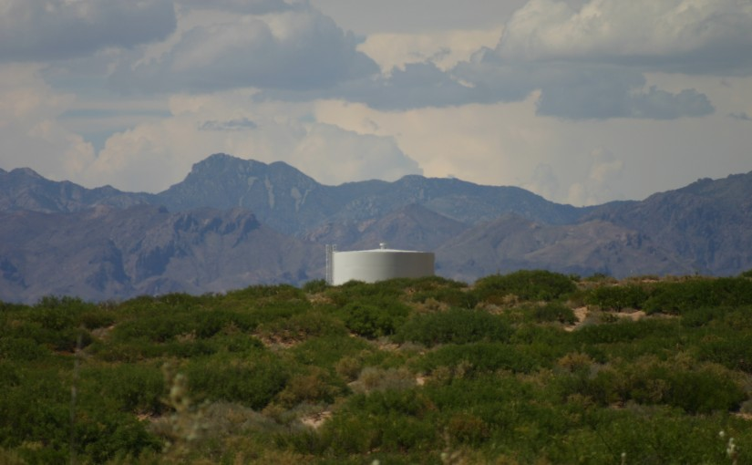 WATER TANK BY ANTHONY 2010