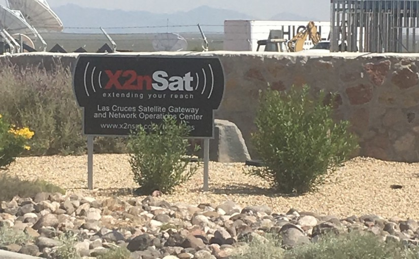 X2nStat Satellite Operation Center Las Cruces Industrial Park