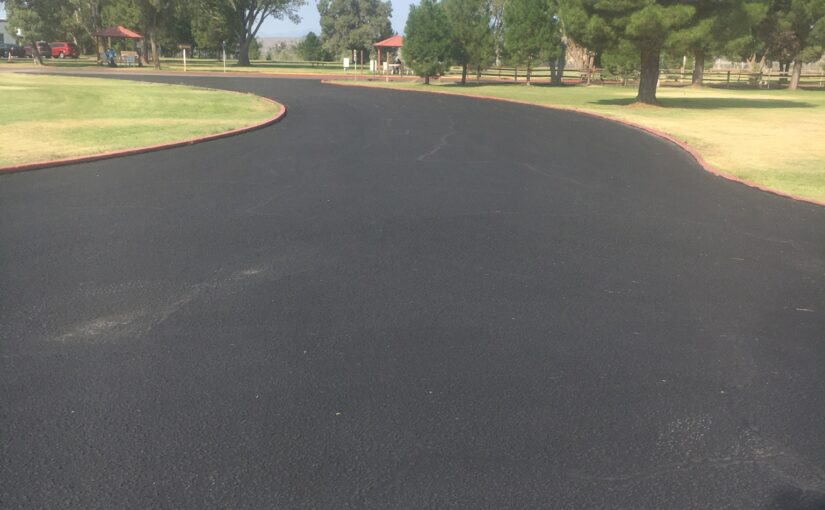 Sealmaster Seal Coating at New Mexico Veterans Center at Truth or Consequences, New Mexico